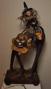 Primitive Halloween Crafts 666 Best Kim U0027s Klaus Images On Pinterest Folk Art Art Dolls And