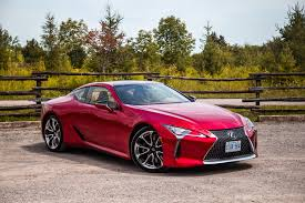 red lexus 2018 review 2018 lexus lc 500 canadian auto review
