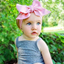 baby girl headwraps wholesale fashion baby headwraps top knot solid color big