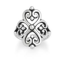 avery adorned hearts ring adorned hearts ring avery from avery jewelry