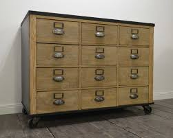 wood cabinet ideas drawers skinny wooden filing cabinet brown