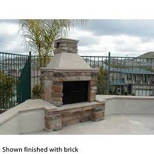 Outdoor Fieldstone Fireplace - mirage stone 3 sided wood burning outdoor fireplace