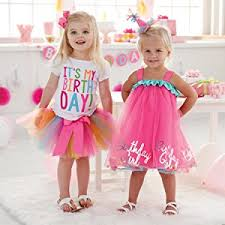 birthday dress mud pie baby girl s birthday tutu multi one size