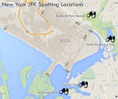 New York Airport Terminal Map by Where To Spot At New York Jfk Airport Airport Spotting Blog