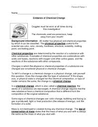 evidence of chemical change lesson planet community forums