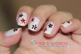 nail arts flowers nail art designs