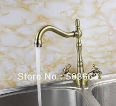 popular antique brass kitchen tap faucet buy cheap antique brass