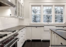 backsplash for black and white kitchen endearing white subway tile backsplash black countertop backsplash