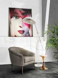 Contemporary Lighting by The Best Contemporary Lighting A Cosmic Mid Century Floor Lamp