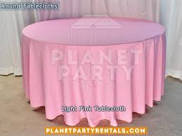 pink round table covers tablecloths rectangular round tablecloths