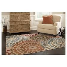 radial dot area rug target