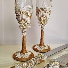 wedding goblets shop rustic wedding glasses on wanelo