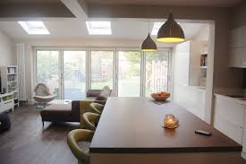 semi detached extension kitchen living google search skylights