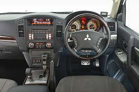 mitsubishi pajero interior mitsubishi pajero swb updated for 2014 model year cars co za