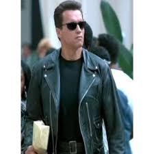 Terminator 2 Judgment Day Black Jacket Arnold Schwarzenegger
