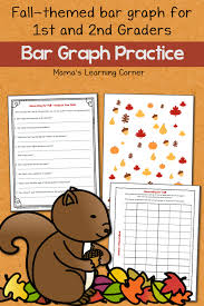 bar graph practice with a fun fall theme mamas learning corner