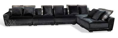 Black Leather Sectional Sofa Top 7 Dark Leather Sectional Sofas Cute Furniture