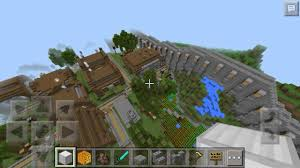 Mpce Maps 0 14 X Walled Village The Heat Villages Mcpe Map Review Youtube