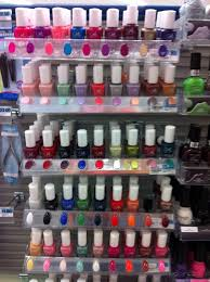went to rite aid and saw the julie g nail polish rack and was in