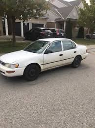 toyota for sale kijiji 1995 toyota corolla buy or sell used and salvaged cars