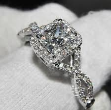 luxury engagement rings high quality diamond rings wedding promise diamond