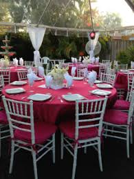 rent tables and chairs for party party rentals in miami a party 4 less