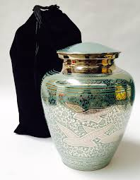 funeral urn going home cremation urn