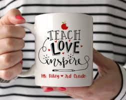 personalized teacher gift gift for coworker inspirational gift