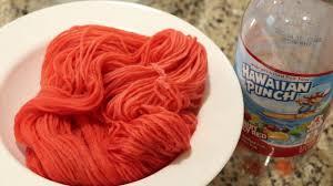 dyeing yarn with hawaiian punch youtube