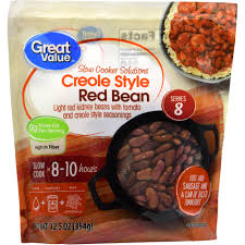 slow cooker red beans and rice cooking light great value slow cooker solutions creole style red bean 12 5 oz