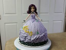 descendant mal barbie cake cake decorating youtube