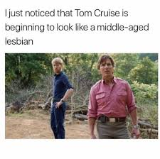Tom Cruise Meme - dopl3r com memes i just noticed that tom cruise is beginning