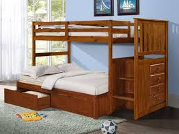 alexander bunk bed with storage drawers stairs and built in