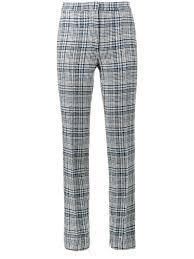 off u2013 tartan high waisted trousers kirna zabête