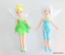 disney fairies stuffed animal tinker bell u0026 peter pan toys ebay