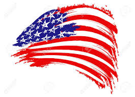 Picture Of The Us Flag Usa Flag Sketched Stock Photo Picture And Royalty Free Image