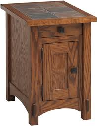 end table with outlet leah mission small end table throughout tables plan 3