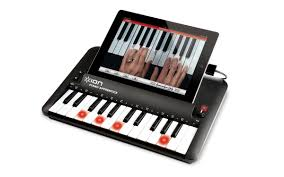 keyboard that lights up to teach you how to play piano apprentice 25 key piano learning system for ipad ipod and