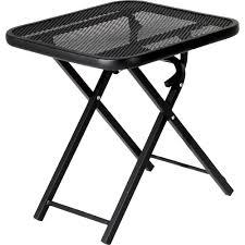Patio Furniture Metal Mesh - folding patio furniture searscom small folding metal patio table