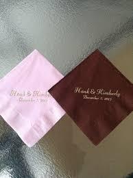 wedding cake napkins 88 best personalized napkins images on personalised