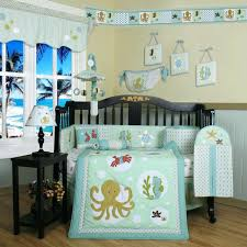 bedding ideas beach themed bedding sets bedroom space full size bedroom space ocean themed baby bedding sets bedroom blue bench theme bedding sets with black wooden cradle on laminate flooring plus black wooden side