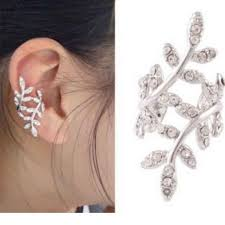 earring cuffs sparkles ear cuff clip wrap earring stud wrap earrings