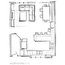 kitchen floorplan small kitchen floor plans with peninsula plan design ideas