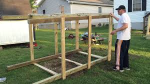 How To Build A Wooden Playset Building A Playset For The Grandkids Youtube