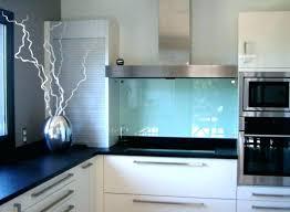 credence cuisine verre trempé credence en verre transparent cuisine