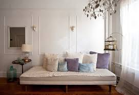 daybed for living room daybed living room living room eclectic with birdcage curtains