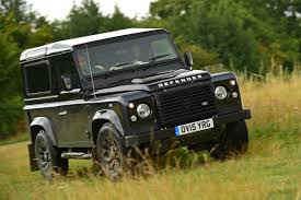 land rover defender convertible land rover defender 90 2015 review auto express