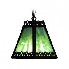 Green Glass Pendant Light Green Glass Shade Wrought Iron Mini Pendant Light In Black