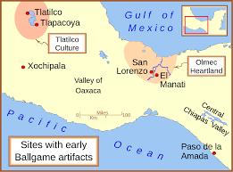 Mesoamerica Map File Early Mesoamerican Ballgame Sites 1 Svg Wikimedia Commons