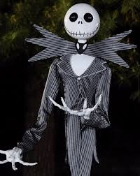 Jack Pumpkin King Halloween Costume Size Jack Skellington Animatronic Decoration Unveiled